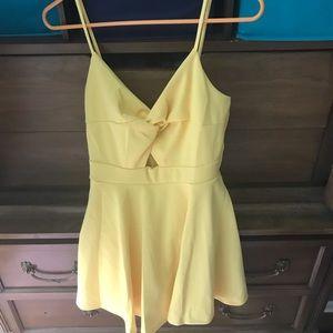 Forever 21 Dresses - Yellow sun dress